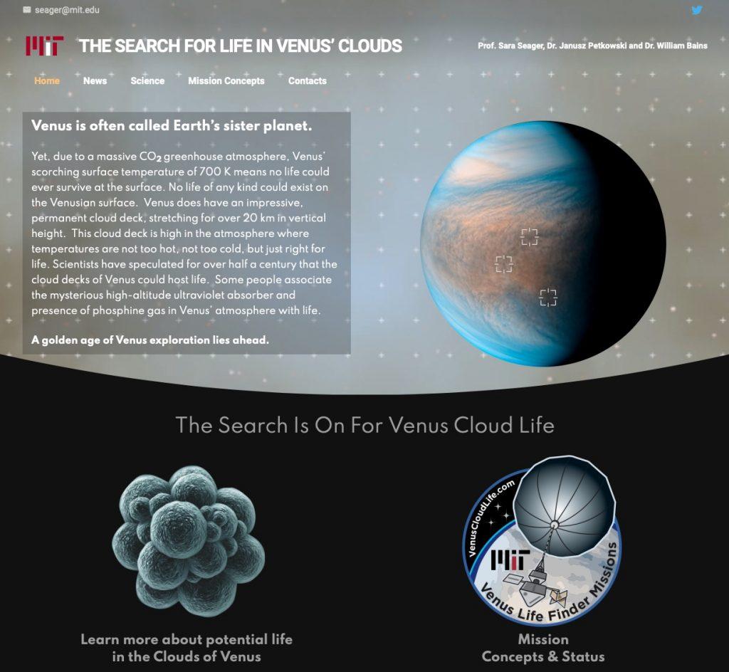 venus cloud life
